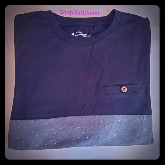L.P.C. Split Block Shirt Boys 12 NWT